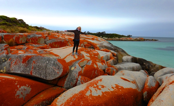 Climbing the Bay of Fires
