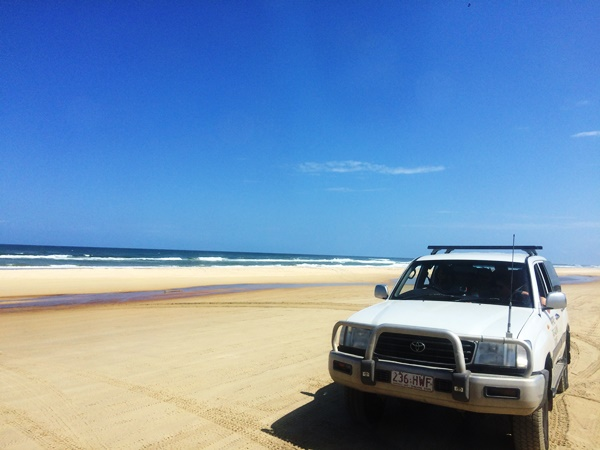 Off-Road durch Fraser Island