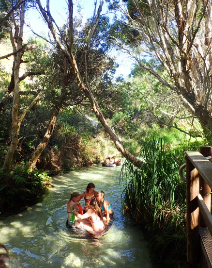 Erie Creek auf Fraser Island