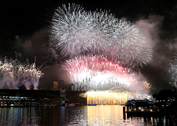 New Years Eve in Sydney: Der Himmel brennt
