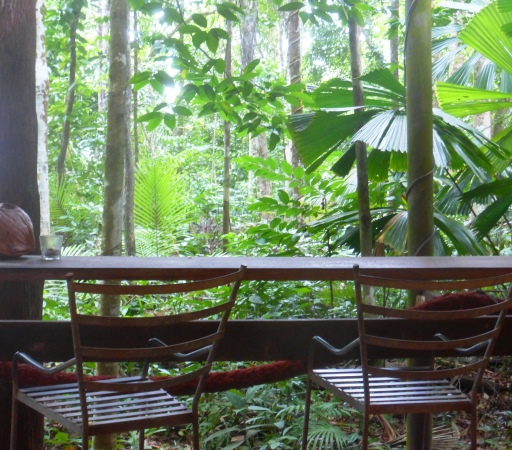 Dschungelcafé am Cape Tribulation