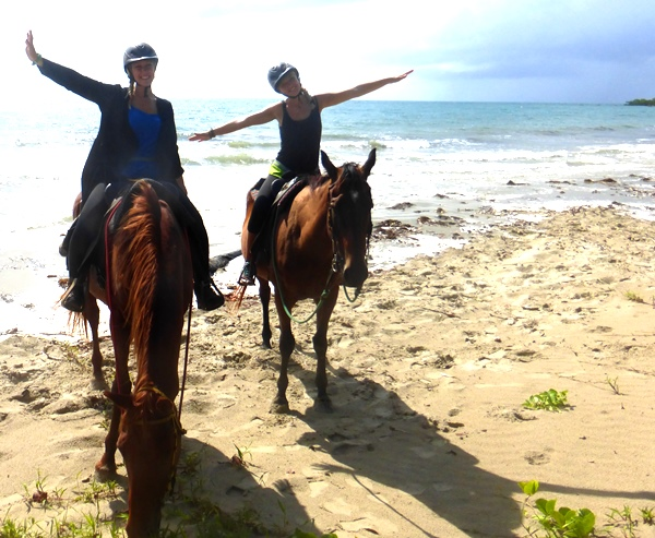 Riding the Beach at Cape Tribulation